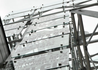 Construction of Symbolic Mining Tower Klopp Orth