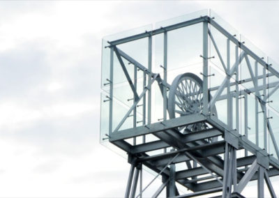 Construction of Symbolic Mining Tower Klopp Orth