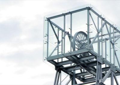 Symbolická banská veža